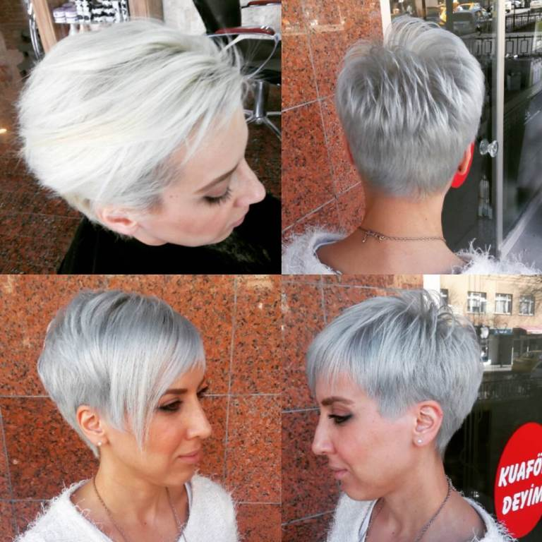 Gümüş Gri Saç Rengini Seçmeniz Için 6 Neden Saç Bakımı