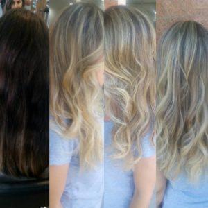 Uzun Saça Ombre
