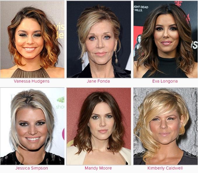 Ünlülerin Saç Modelleri 200 Ünlünün Saç Modeli ve İsimleri