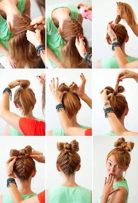 Kolay Saç Örgü Modelleri ve Yapılışları | Resimli Anlatım
