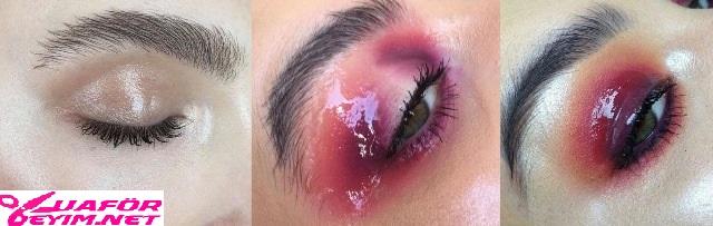Yeni Makyaj Trendi Islak Bitişli Makyaj Dewy Skin