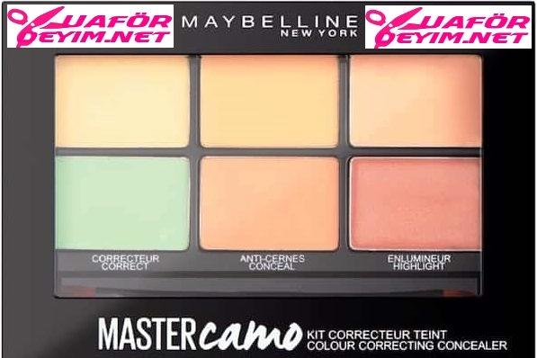 Maybelline Master Camo Renk Eşitleyici Kit İncelemesi