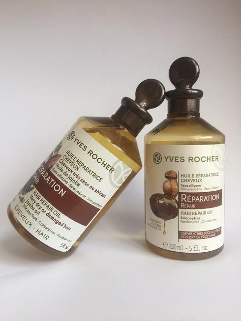 Yves Rocher Yıpranmış Saçlar için Onarıcı Saç Yağı İncelemesi