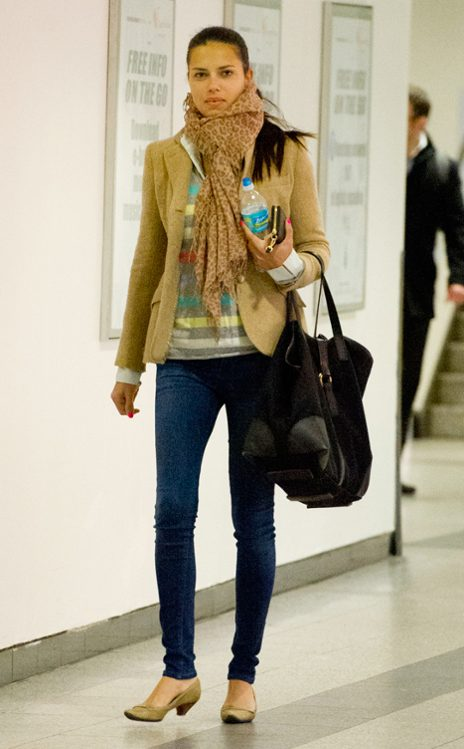 Adriana Lima'nın Sokak Stili Ondan İlham Alın!