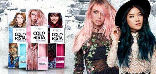 L'oreal Paris Colorista Washout ile Renkli Saçlar - Saçlarda Gökkuşağı Renkleri