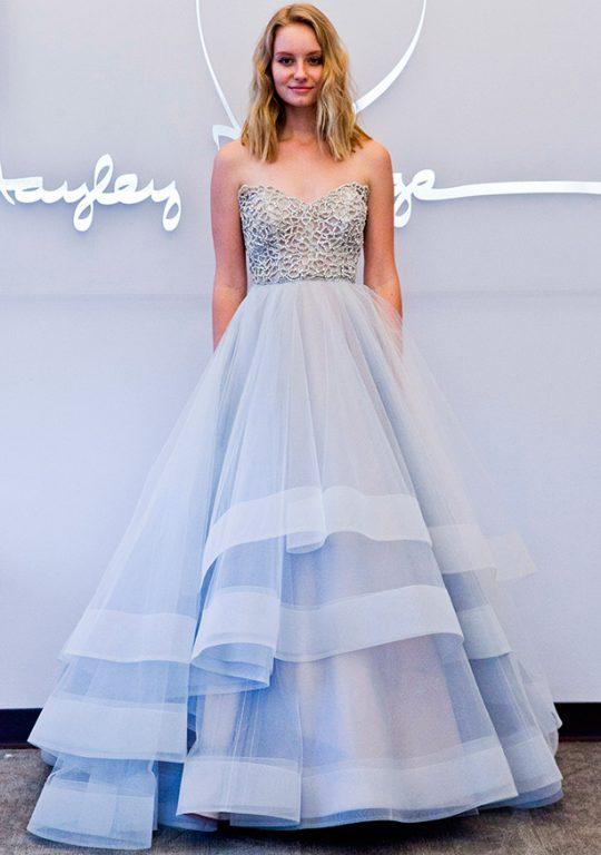 Renkli-düğün-elbiseleri Hayley Paige