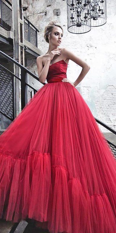 Renkli-düğün-elbiseleri-Mariya Akhmetshina