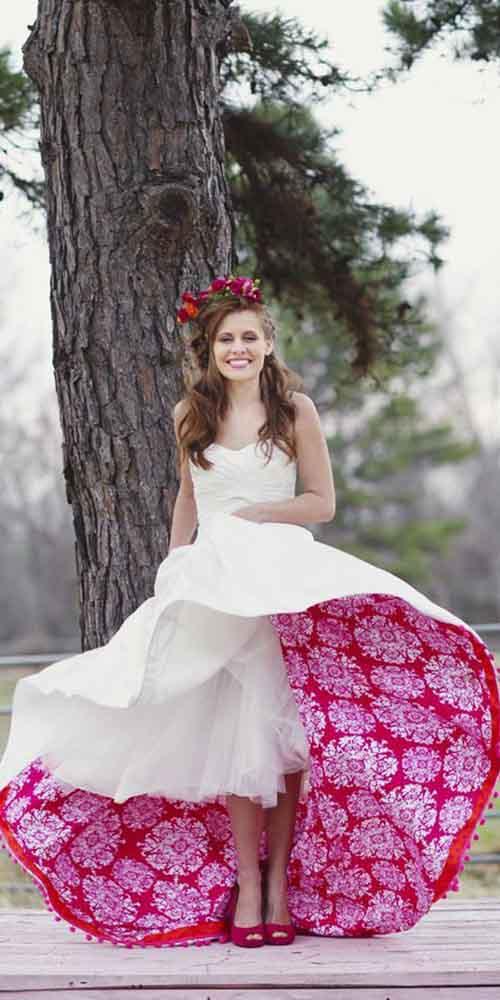 Renkli düğün elbiseleri - Melissa McCrotty