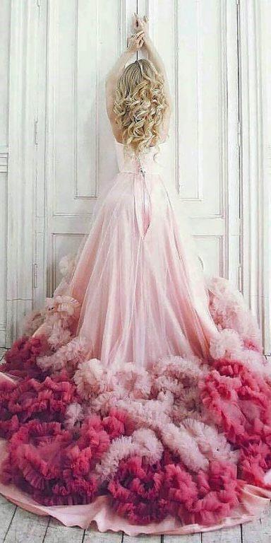 Renkli düğün elbiseleri Thebride_Pics
