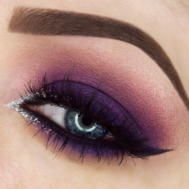 Mor Göz Makyajı Nasıl Yapılır? - 2017 Yaz Makyaj Trendleri