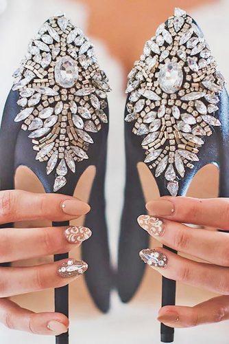 Gelinlere Bir Birinden Güzel Düğün Tırnak Desenleri - En iyi +20 fikir