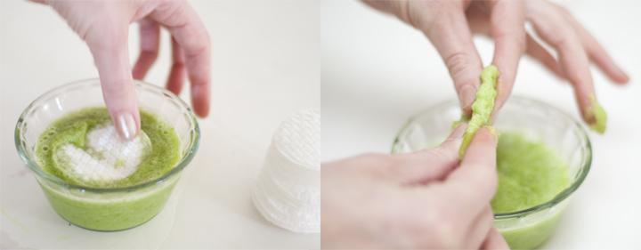 Salatalık Suyu İçeren Disk Pamuklar