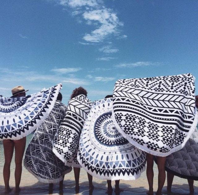 Plajların Gözdesi Yuvarlak Plaj Havlusu Nasıl Yapılır?