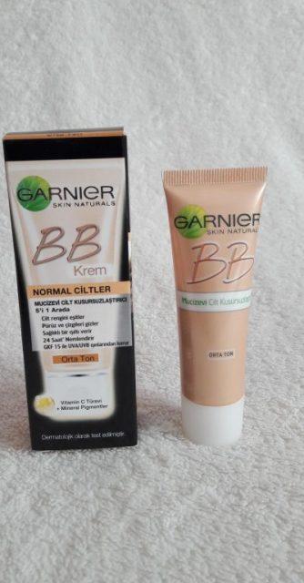 Garnier BB Krem Normal Ciltler için Orta Ton İncelemesi