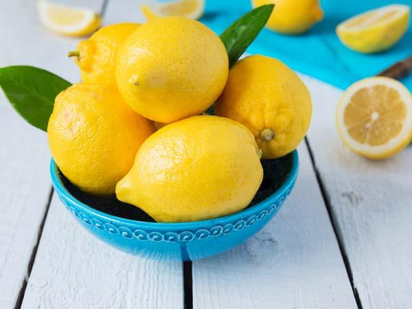 Limon İle Cilt Bakımı