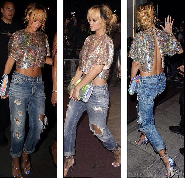 Rihanna'nın Sokak Stilini İnceledik