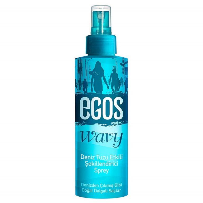 Egos Deniz Tuzu Etkili Şekillendirici Sprey ve Saç Köpüğü