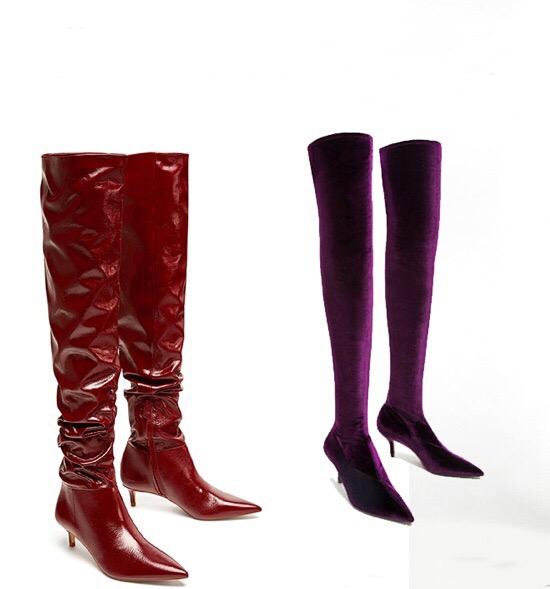 Sezon Trendi: Dizüstü Çizmeler