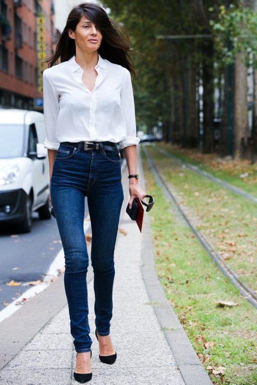 Beyaz Gömlek Kombinleri  %Image Name
