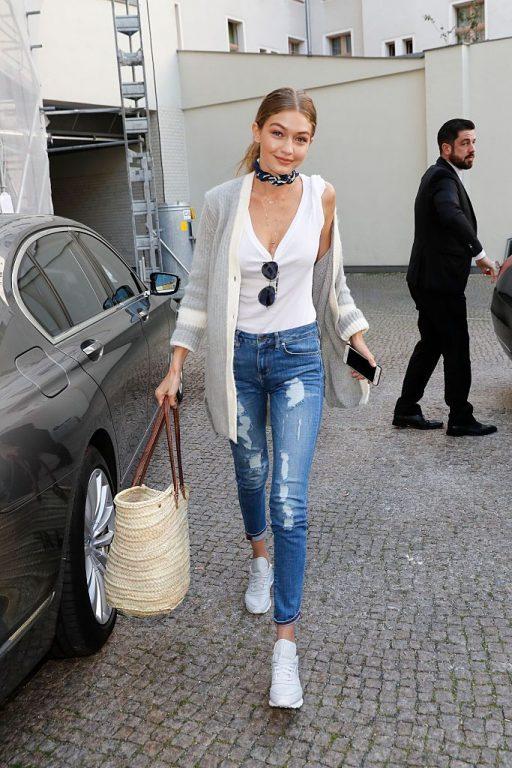Gigi Hadid'in Sokak Stilini İnceledik   Ünlülerin Sokak Stilleri