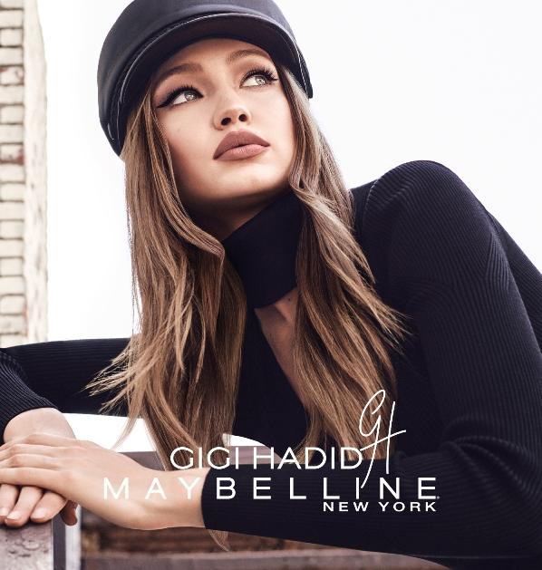 Gigi Hadid Maybelline Makyaj Koleksiyonu Türkiye'de