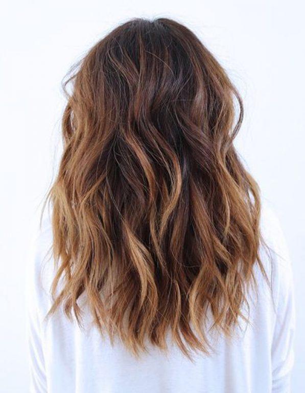 Ombre Saç Modeli Doğal Ombre
