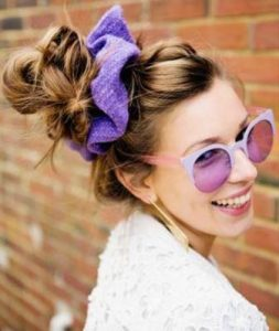 Nostalji Renkli Scrunchie's Geri Döndü!