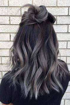 NevaPremium Set Saç Boyası Gümüş Gri ve Gri Ombre Saç Modelleri