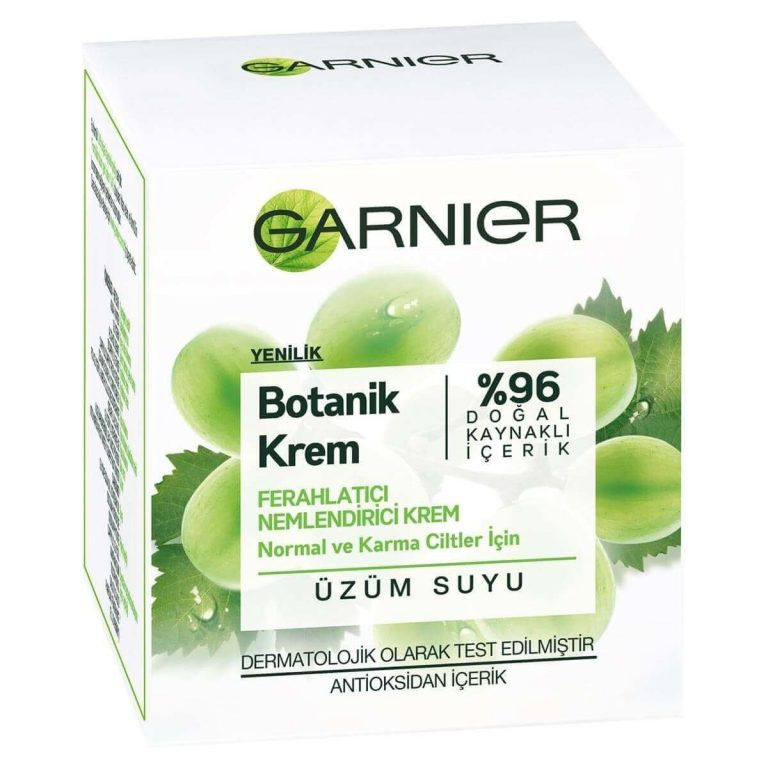 Garnier Botanical Cream (With Grape Water) İncelemesi