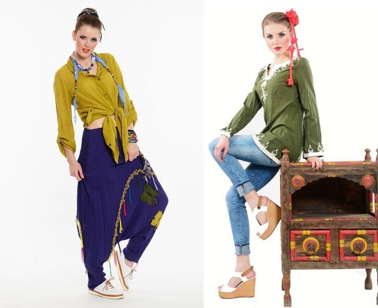 Etnik Esintiler ve Moda - Modada Etnik Stil