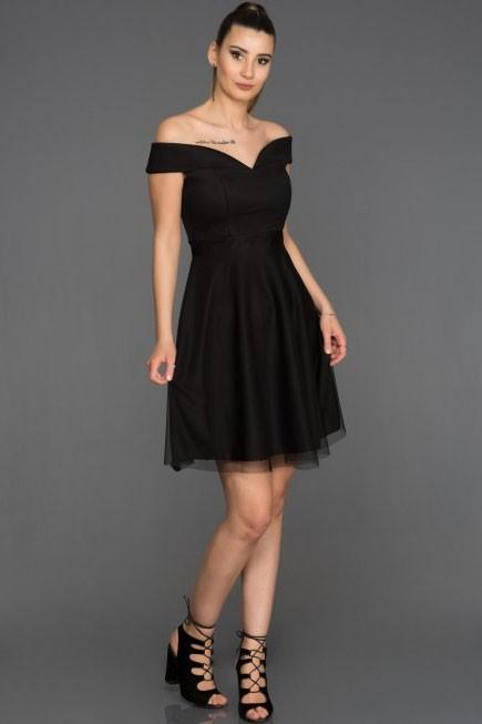 Siyah Gece Elbise Modelleri