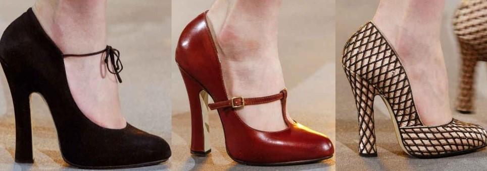 Topuklarda Kübik Form Çok Ama Çok Moda