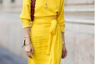 Yazın Gözdesi İlle de Sarı Elbise
