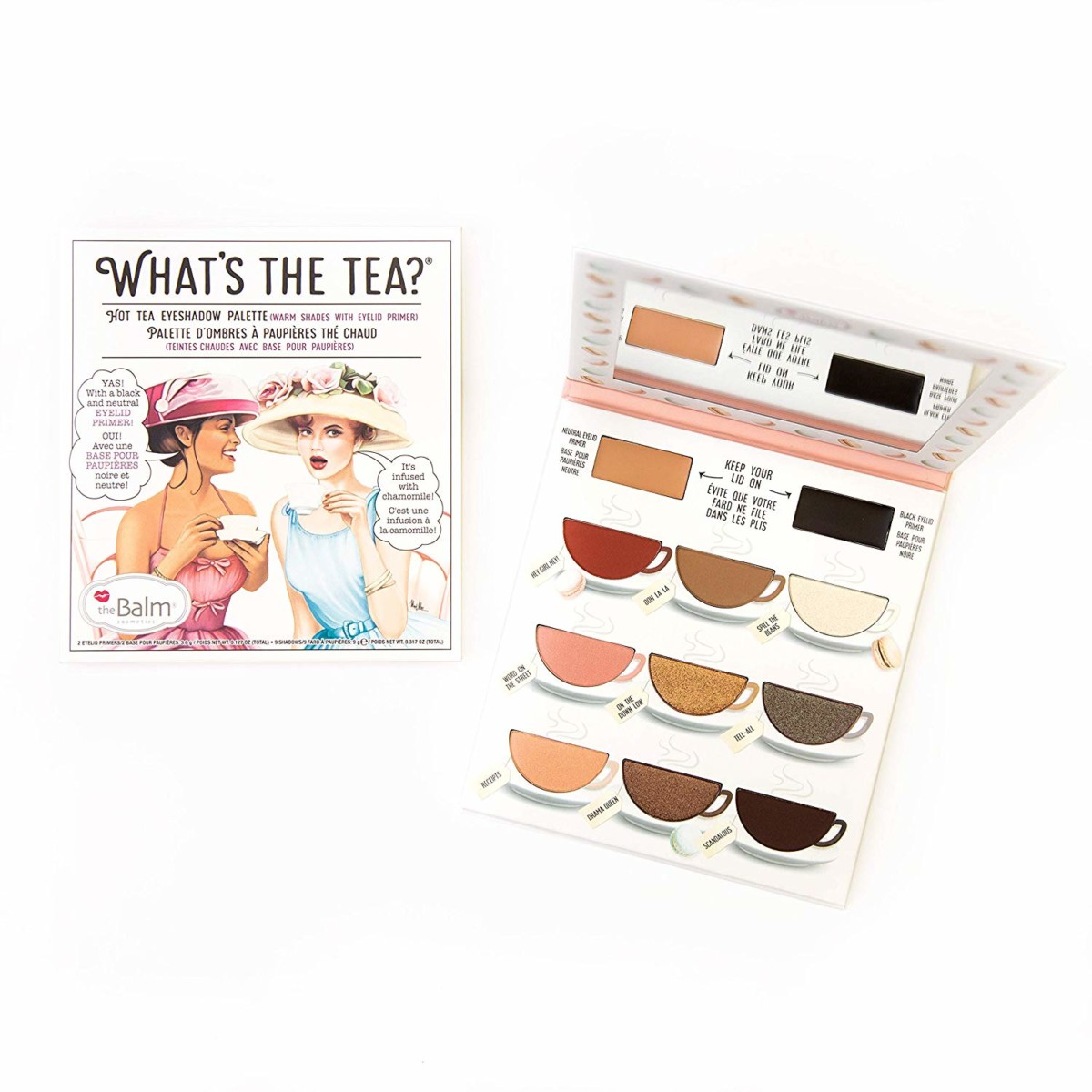The Balm What's Tea- Hot Tea Far Paleti İncelemesi